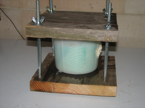 My cheese press