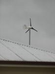 Non spinning turbine