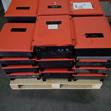 Pallet load of dead Kinglong inverters