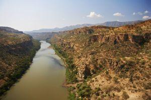 River Nile Dam Site