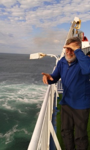 Richard on the Spirit of Tasmania