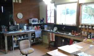 Kitchen area cleaned up and reorganised