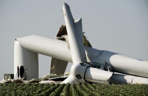 dead turbine